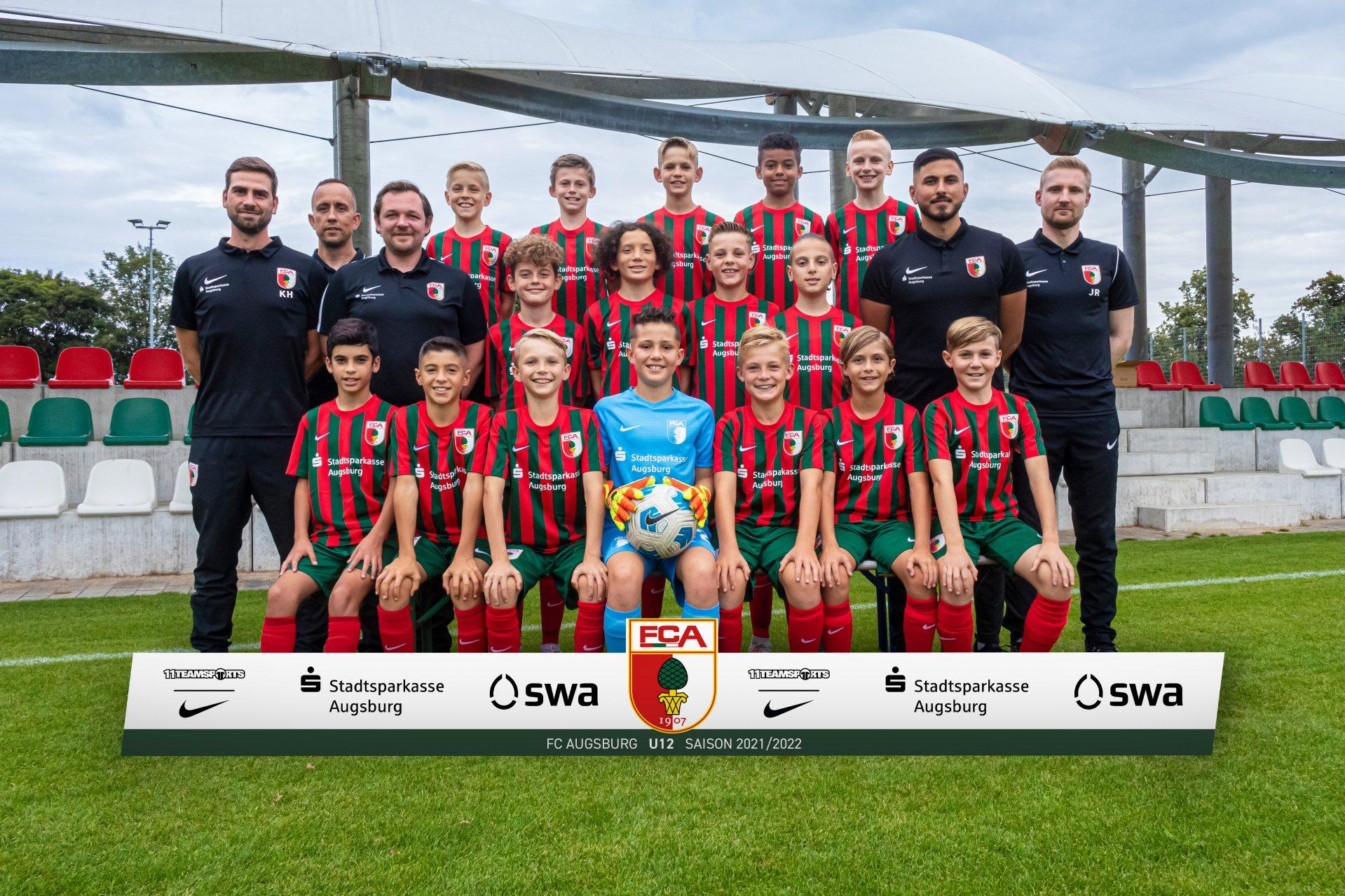 U12 - Bezirksoberliga und NLZ-Förderliga   FC Augsburg